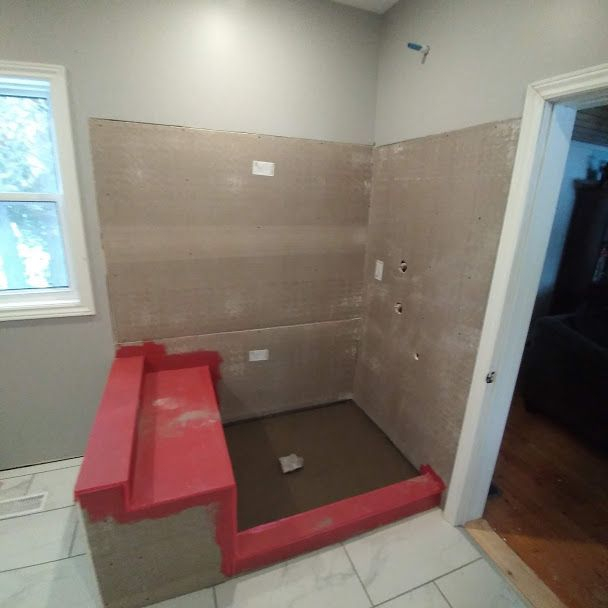 DRAINAGE INSTALLATION BATHROOM