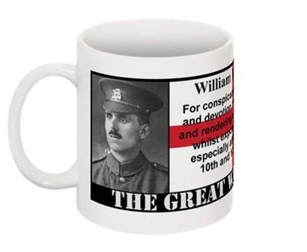 1915 VICTORIA CROSS COLLECTABLE MUG - William Buckingham VC