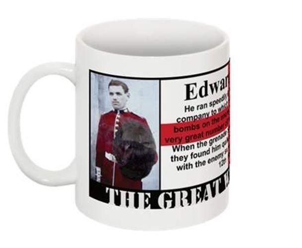1915 VICTORIA CROSS COLLECTABLE MUG - Edward Barber VC