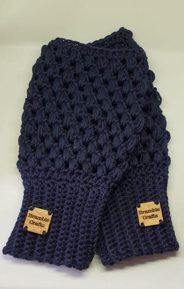 crochet gloves, fingerless gloves, vegan gift, vegan crochet, cotton gloves, handmade gift, Bramble Crafts
