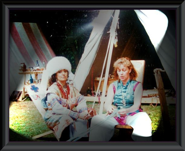 Lager 1995 oder 1996 der 1. Kölner Wikinger