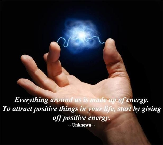Positive energy for Healing Arts
