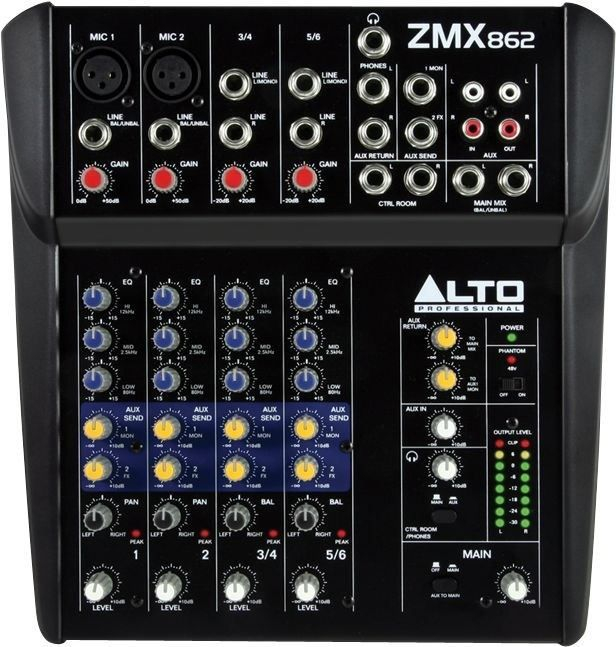 Small Pa Mixer for rent