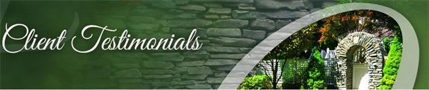 Client Testimonials Greenwell Landscaping Rochester, NY