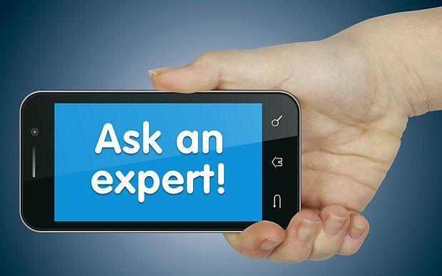 Ask an expert message on the cellphone for apartment locating