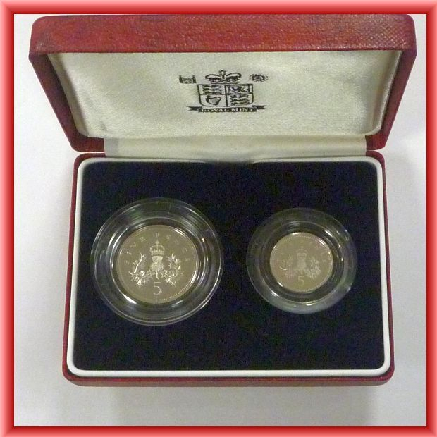 1990 silver proof set