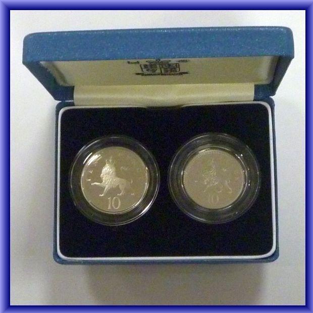 1992  ten pence