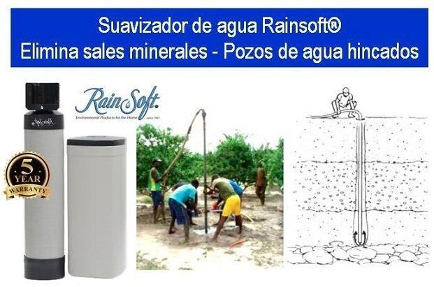 Pozo de agua - Suavizador de agua Rainsoft