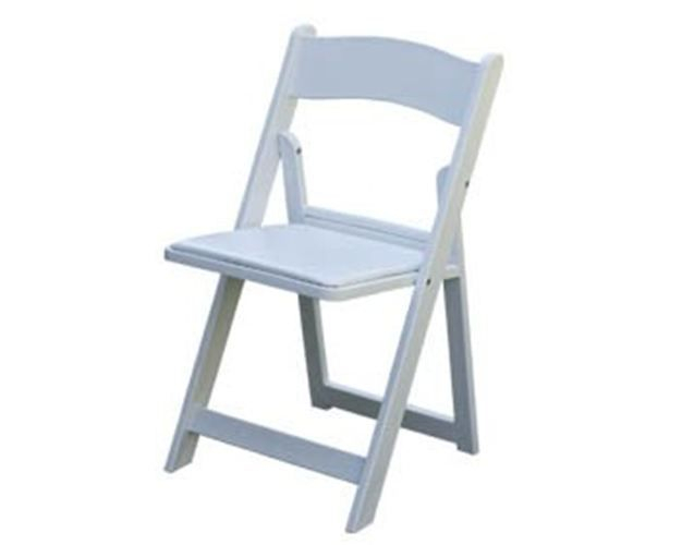 SVS White Resin Folding Chairs Starting at $3.00 Contact us for more details at (415) 787-2424. Availability: 100