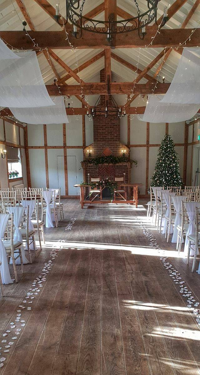 Weddings at Burley Manor Barn
