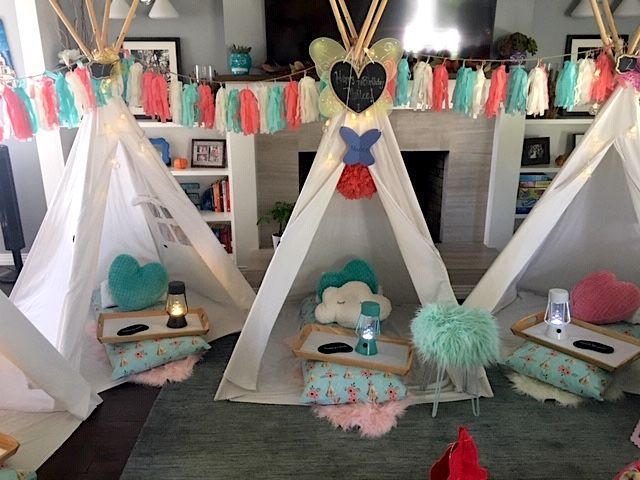 Teepee rentals, kids party rentals, teepee rental, kids birthday party, kids birthday parties, sleepover parties, sleepover party, kids party planner, kids birthday party planner, Newport Beach, Orange County
