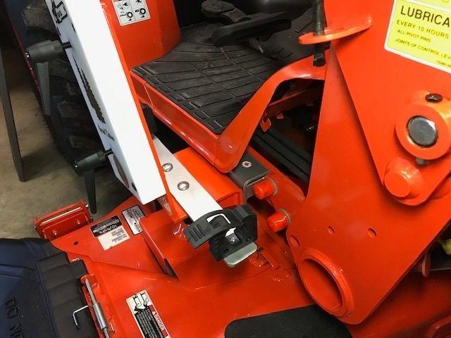 Kubota Tractor saw saddle mod