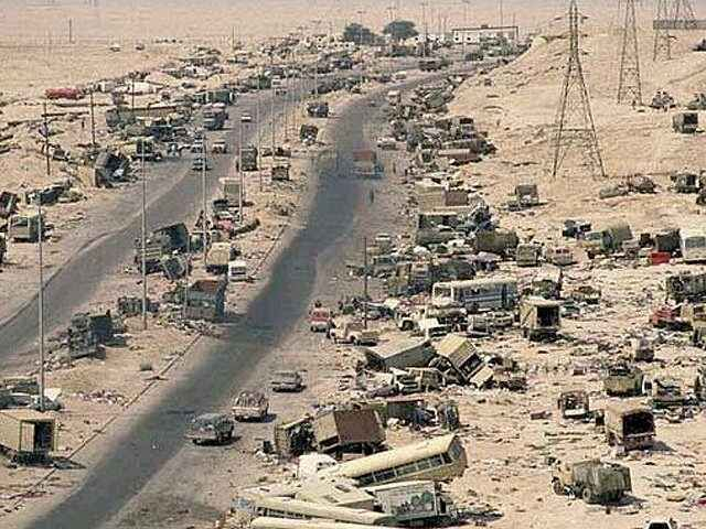 highway of death, routing enemy