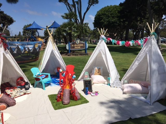 Kids party rentals, kids party, kids parties, teepee party, teepee rentals, teepee adventure, party planner, kids party planner, event planner, kids events, kids party planner, Newport Beach, Orange County,