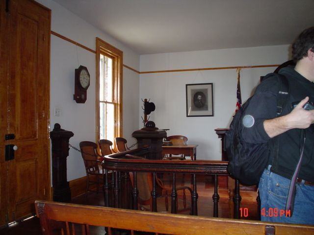 Whaley House Court Room