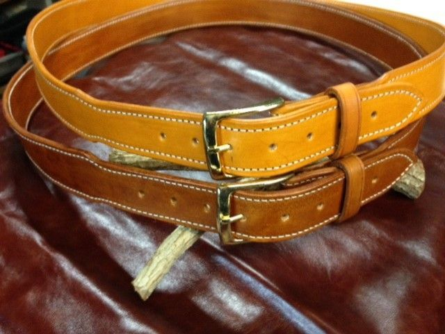 Tapered Heavy duty holster belts ,