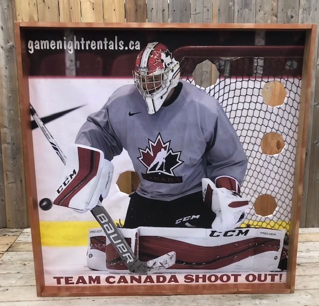 hockey shoot out rental game