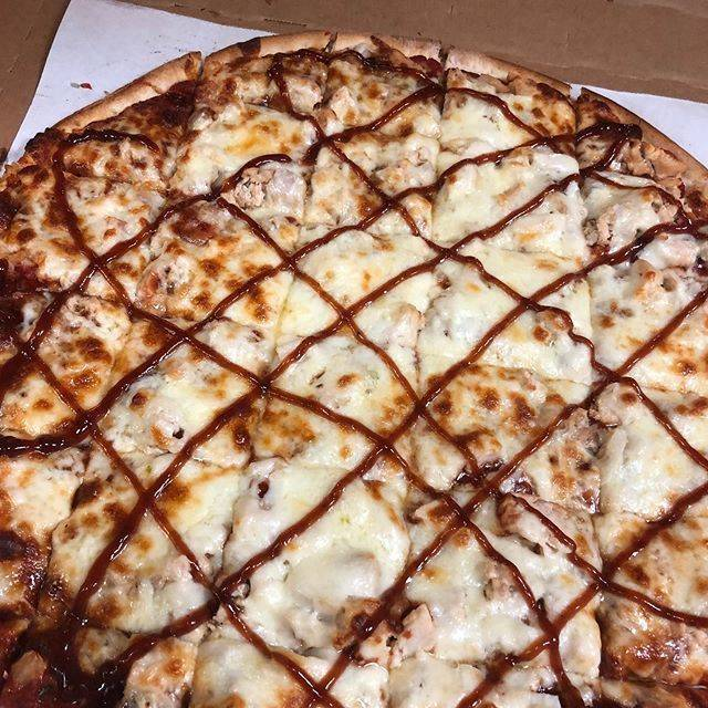 BBQ Chicken Pizza from Hearthside