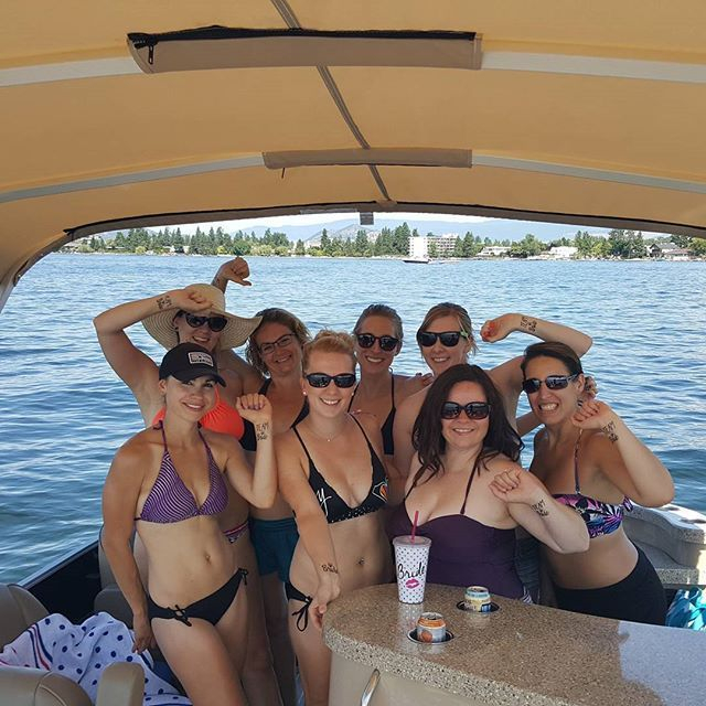 Celebrate your Bachelorette Party with Kelowna Boat Tours