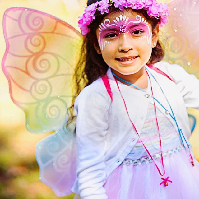 painting, fun, crafts, butterfly wings, fairy wings, face painting