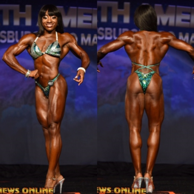IFBB pr figure competition