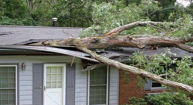 Storm Damaged Roof, Siding, Gutters needing Repair