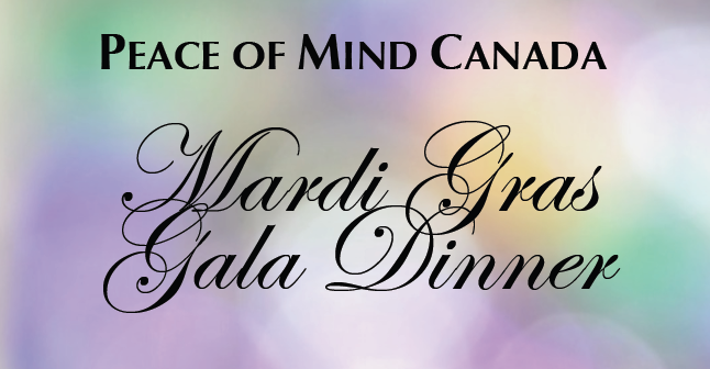 Peace of Mind Mardi Gras Gala 2017