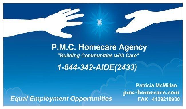 P.M.C. Homecare Agency logo