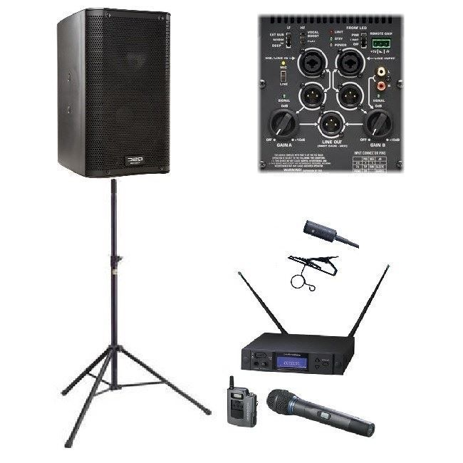 Wedding Ceremony Speakers and Mic for Rent