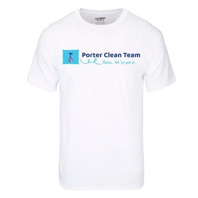 Porter Clean Team shirt sample