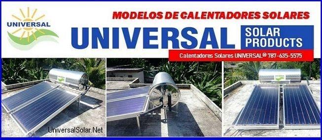 Modelos Calentadores Solares Puerto Rico   $300 Bono
