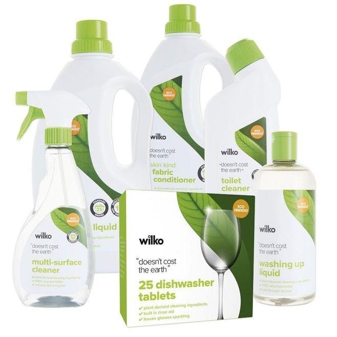 eco friendly cleaning bundle wilko