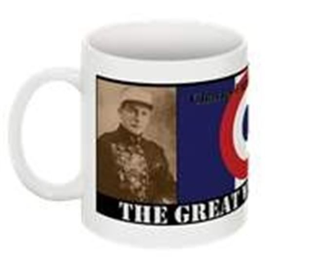 CAces of The Great War Collectable Mug harles Eugène Jules Marie Nungesser 15 March 1892-8 May 1927 Became know as