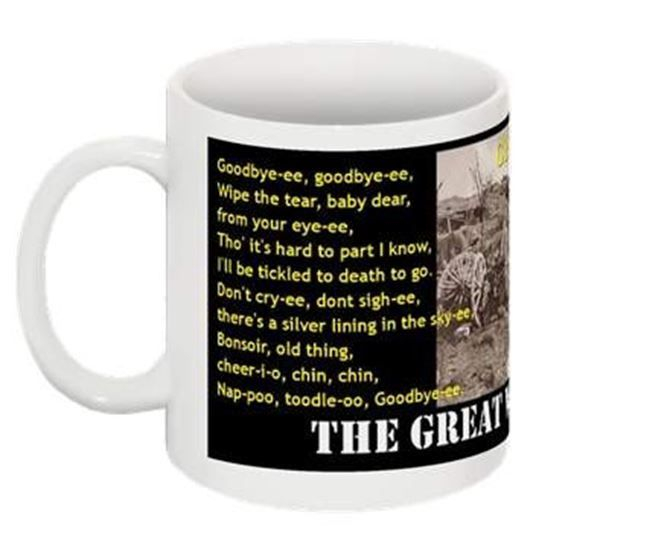 Gallery Solace. The Great War 1914-1918 Collectable Mug. Great War COLLECTABLE MUG