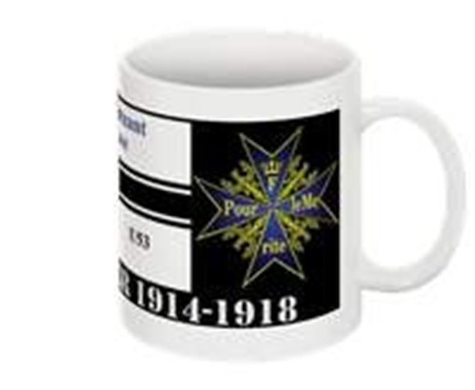 Submarine warfare collectable mug Hans Rose