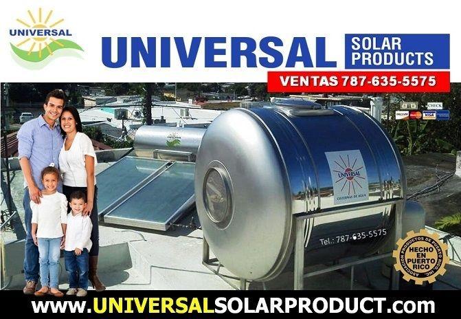 Calentador Solar y Cisterna, Puerto Rico