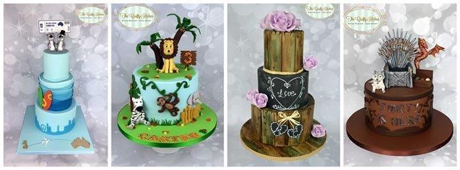 Wedding and Birthday Cakes