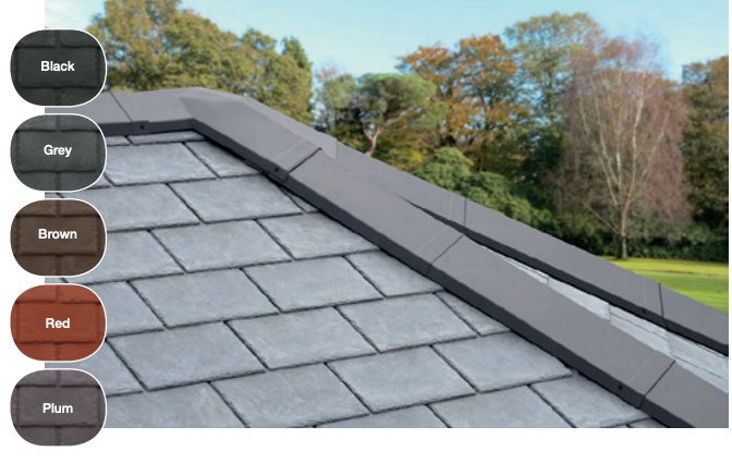 Warm roof tiles