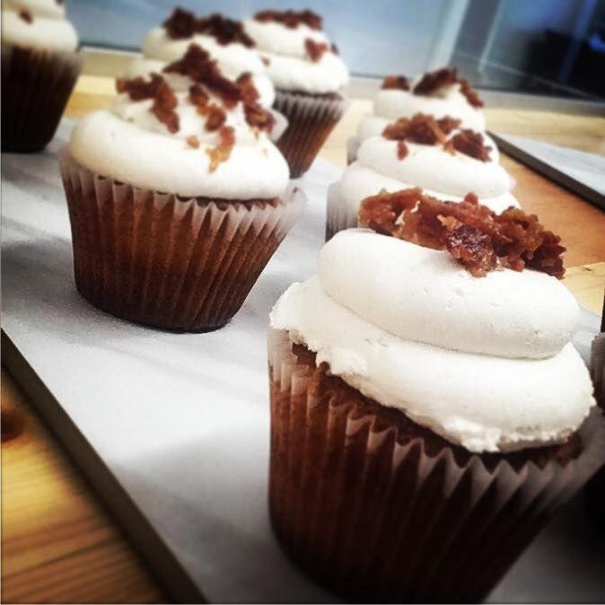 Maple Pancake Muffin, Maple Bacon Cupcake