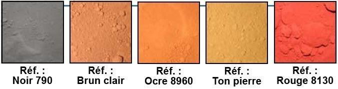 Nuancier Microchape et texture top