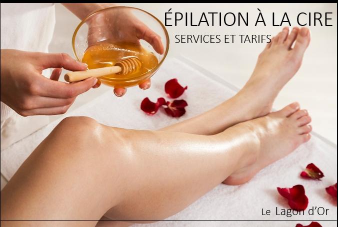 Épilation hair removal Esthétique esthetics estheticienne  gatineau le lagon d'or lelagondor