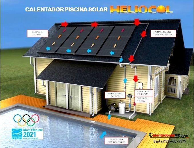 Calentador Solar PIscina - Desde $299
