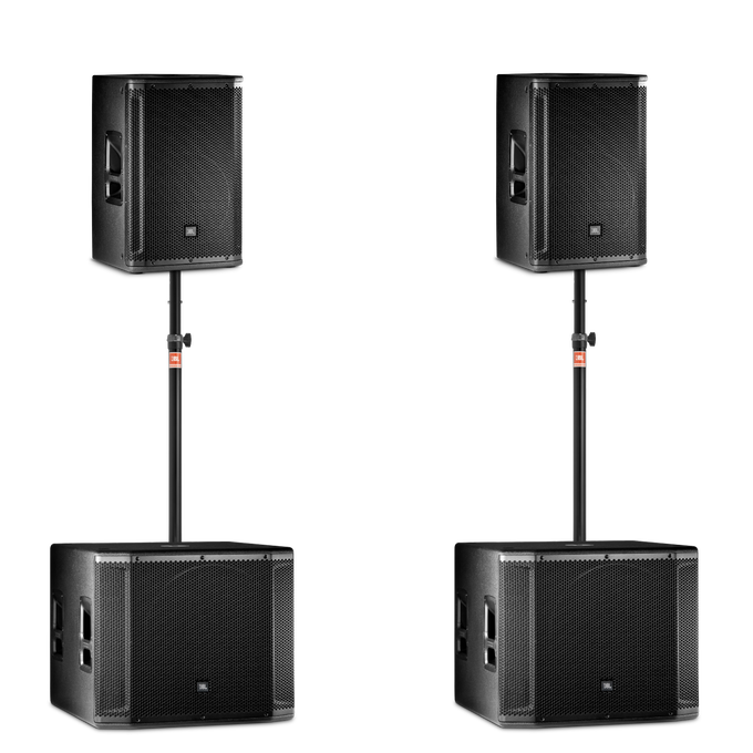 Small Sound System for rent with speakers and subs