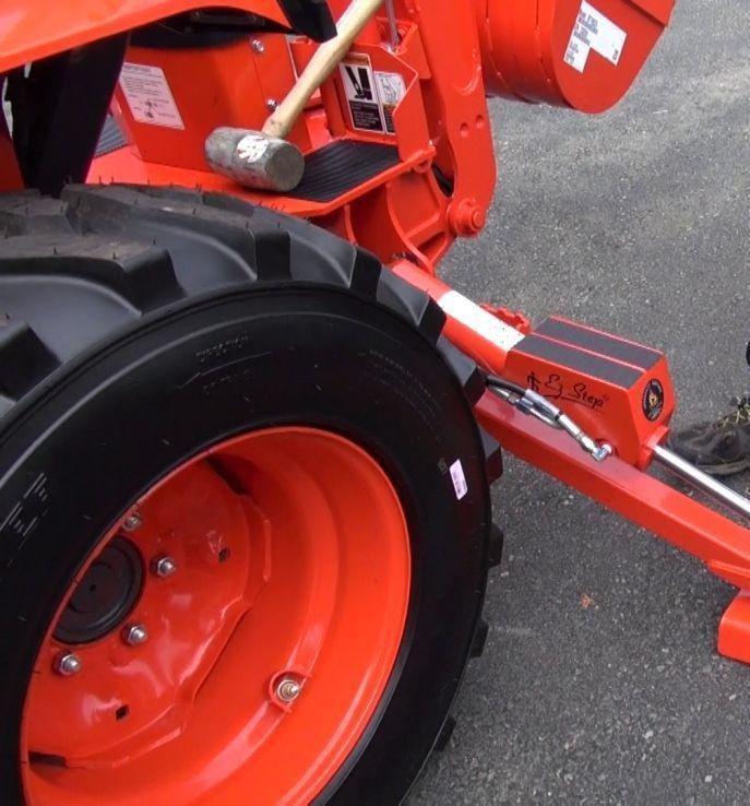 BH70 Ez steps Kubota. Specialty Repairs Custom Mods