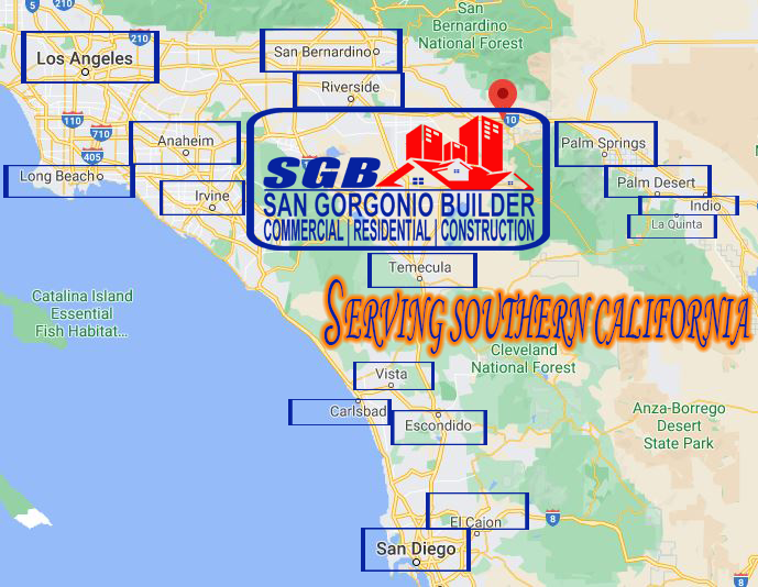 Google My Business Map, San Gorgonio Builders, California, Contractor, Bathroom Remodeler Contractors