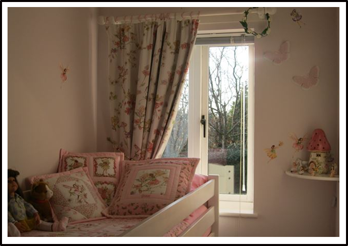 Child's Flower Fairy Room
