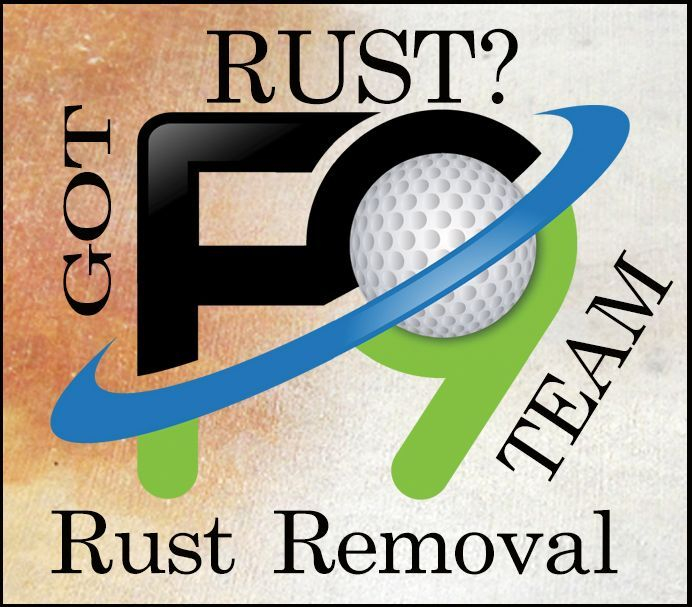 F9 rust removal Asheville