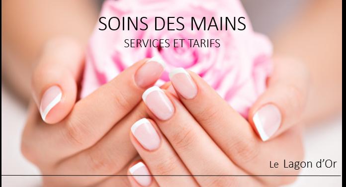 soin des mains manucure vernis francais french shallac Esthétique esthetics estheticienne  gatineau le lagon d'or lelagondor
