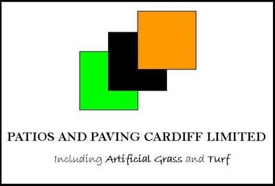 Patios and Paving Cardiff logo