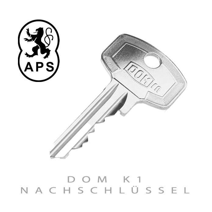 DOM K1 Nachschluessel